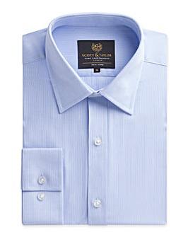 Scott & Taylor Sateen Stripe Shirt
