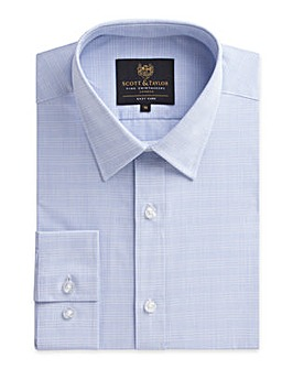 Scott & Taylor Blue Check Shirt