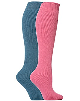 2 Pair Wellington Boot Socks