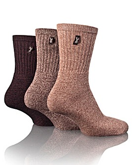 3 Pack Jeep Terrain Leisure Socks