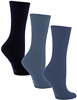 6 Pair Gentle Grip Socks