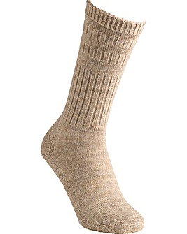 Extra Roomy Wool Cushioned Sole Socks