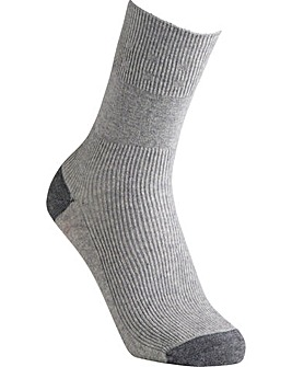 Cotton Contrast Socks