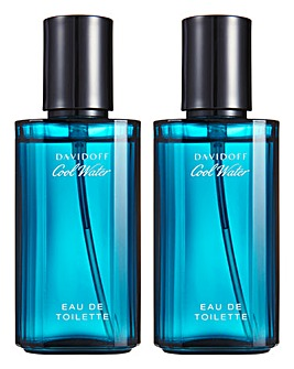 Cool Water 40ml EDT BOGOF