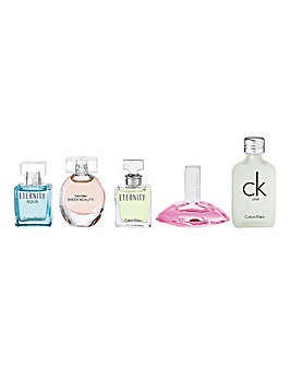 CK Ladies Pack Of 5 Miniatures