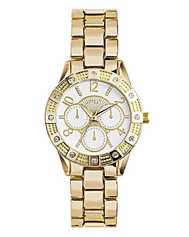 Spirit Ladies Gold Tone Bracelet Watch