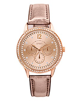 Spirit Ladies Rose Tone Watch