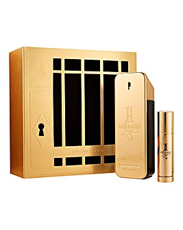 Paco Rabanne One Million Mens Travel Set