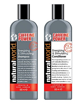 Caffeine Shampoo & Conditioner Set
