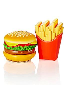 Burger & Fries Lip Balm Duo Set