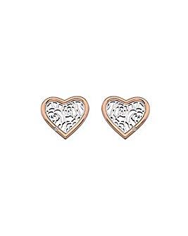 HD Faith Heart Earrings