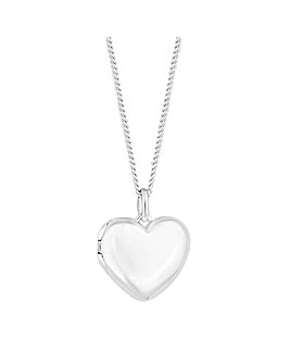 Simply Silver Heart Locket