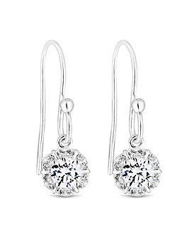 Simply Silver Flower Earring