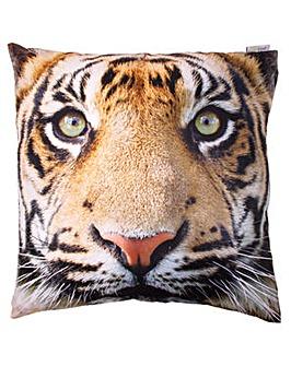 Decorative Tiger Print Cushion
