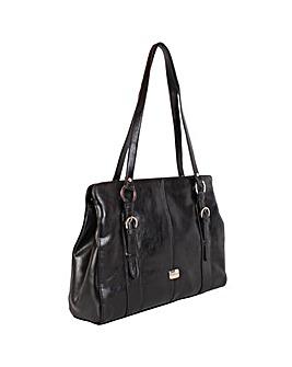 Daniele Donati Faux Leather Handbag