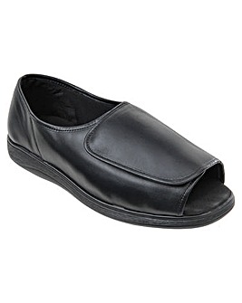 Jonny Leather Slipper HH+ Width