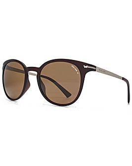 Police Keyhole Round Sunglasses