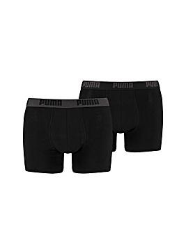 2 Pair Puma Basic Boxer Shorts