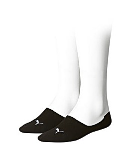 2 Pair Puma Footies Trainer Socks