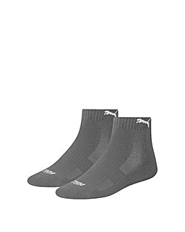 2 Pair Puma Quarter Sock