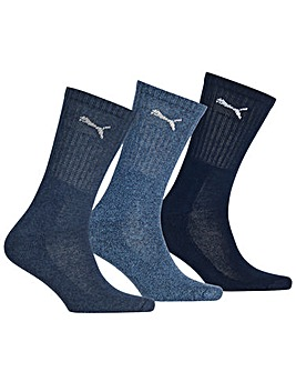 3 Pair Puma Sports Socks