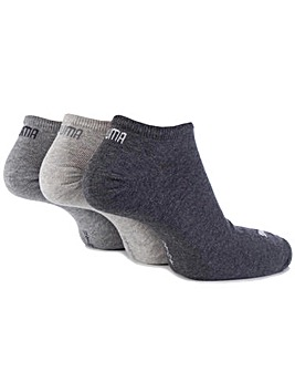 3 Pair Puma Invisible Sneaker Socks