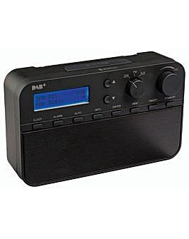 Konig HAV-DABR100BL DAB+ Radio/Alarm