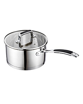 Bistro Stainless Steel 20cm Saucepan