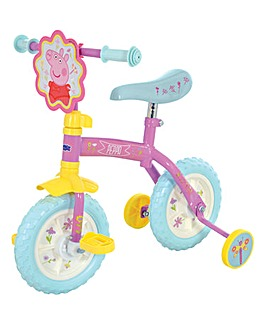 Peppa Pig 2 in 1 Training Bike