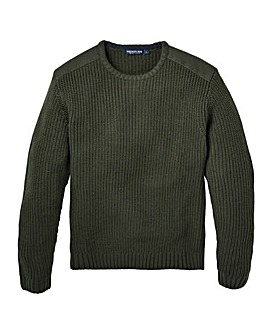Premier Man Fishermans Knit Jumper