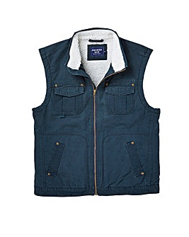Premier Man Cotton Sherpa Lined Gilet