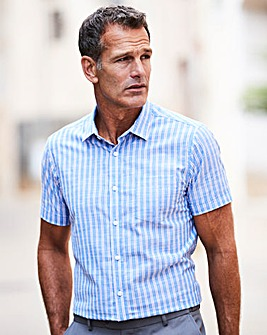 Premier Man Blue Stripe Shirt R