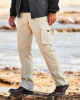 Premier Man Zip Off Leg Trousers 31in