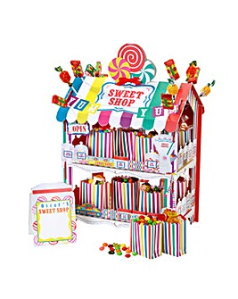 Multi Coloured Sweet Shop Treat Stand