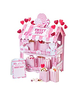 Pink Sweet Shop Treat Stand