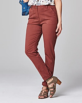 Chino Tapered Leg Trousers