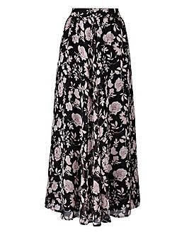 Floaty Printed Maxi Skirt