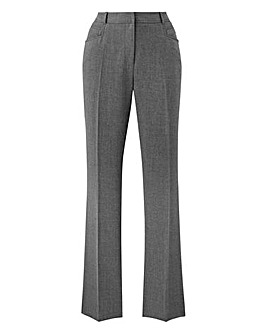 Straight Leg Trouser Long