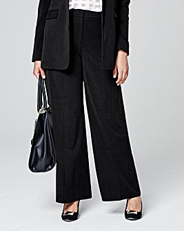 Tailored Wide Leg Trouser Regular
