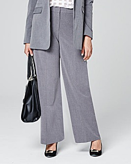 Wide Leg Trouser Long