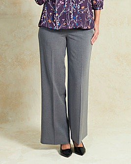 Tailored Wide Leg Trouser Long