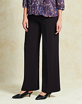 Tailored Wide Leg Trouser Short