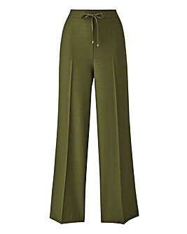 Wide Leg Fashion Trousers Regular