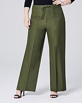 Wide Leg Fashion Trousers Regular