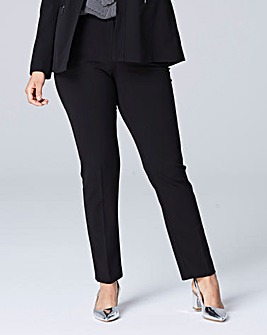 Cropped Straight Leg Trouser Reg