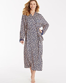 Pretty Secrets Printed Viscose Gown