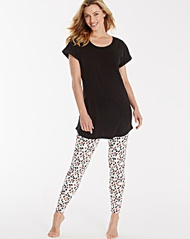 Pretty Secrets Printed Legging Set