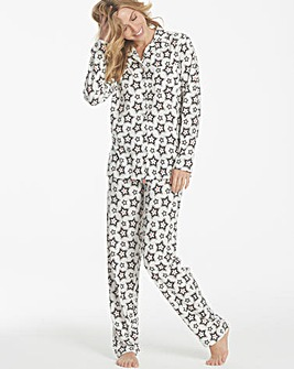 Pretty Secrets Soft Button Front Pyjamas
