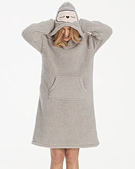 Pretty Secrets Owl Hood Nightie