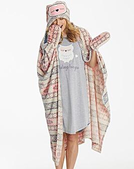 Pretty Secrets Owl Blanket